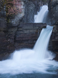 St. Mary Falls in Glacier National Park Photographic Print by Greg Winston