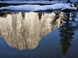 El Capitan Reflected in the Merced River Photographic Print by Michael Melford