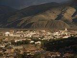 The Town of Ganze Photographic Print by Michael S. Yamashita