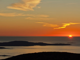 Sunrise from Cadillac Mountain Photographic Print by Mauricio Handler