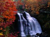 Brandywine Falls in the Cuyahoga National Recreation Area, Ohio Photographic Print by Melissa Farlow