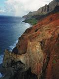 The Rugged Coastline of the Na Pali Coast Photographic Print by Diane & Len Cook & Jenshel