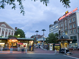 Harvard Square at Dusk Photographic Print by Richard Nowitz