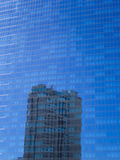A Casino's Reflection in the Glass Windows of Another Casino Photographic Print by Mike Theiss