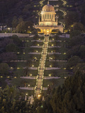 The Bahai Temple on Mt. Carmel Impresso fotogrfica por Richard Nowitz