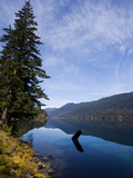 A View of Lake Crescent on a Sunny Afternoon Photographic Print by Michael Hanson