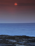 A View of the Atlantic Ocean from the Cape Elizabeth Lighthouse Photographic Print by Raul Touzon