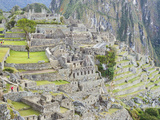 The Pre-Columbian Inca Ruins of Machu Picchu Photographic Print by Mike Theiss