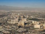 An Aerial View of the Sprawling City of Las Vegas Photographic Print by James Forte
