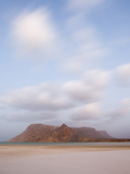 White Sand Beaches Stretch for Miles at Detwah Lagoon Photographic Print by Michael Melford