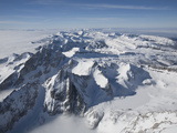 An Aerial View of the Teton Range Photographic Print by Greg Winston