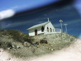A Small Chapel on Isla San Marcos Seen Through Polarized Sunglasses Photographic Print by Keenpress 