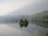 A Lake in the Mist Photographic Print by Alison Wright