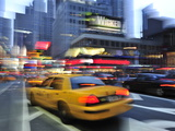 Times Square in the Early Evening Photographic Print by Raul Touzon