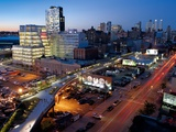 The High Line Glides across the Bustling Avenues of Chelsea Photographic Print by Diane & Len Cook & Jenshel