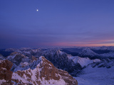 The Wetterstein Range Seen from Germany's Highest Mountain, Zugspitze Photographic Print by Norbert Rosing