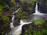 A Waterfall on Maui Island Photographic Print by Raul Touzon