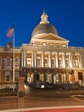 The 'New' 1798 Built State House across from the Boston Common Photographic Print by Richard Nowitz