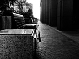 A Line of Benches Photographic Print by Jorge Fajl