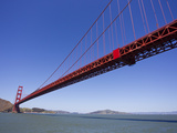Golden Gate Bridge over San Francisco Bay Photographic Print by Mike Theiss