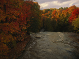 Cuyahoga River, as Seen from the Top of Brandywine Falls Photographic Print by Melissa Farlow