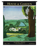 House & Garden July 1929 タペストリー : ハリー・リチャードソン