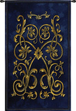 Florette Bleu Wall Tapestry