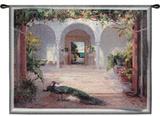 日に照らされた中庭 タペストリー : ハイビン