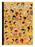 Dressed Down - The New Yorker Cover, November 1, 2010 Regular Giclee Print by Ivan Brunetti