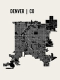 Denver Prints by  Mr City Printing