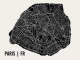 Paris Prints by  Mr City Printing