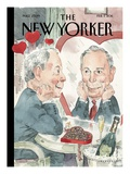 Bloom in Love. - The New Yorker Cover, February 7, 2011 Regular Giclee Print by Barry Blitt