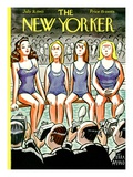 The New Yorker Cover - July 31, 1943 Regular Giclee Print by Peter Arno