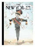 Hope Is the Thing with Feathers - The New Yorker Cover, March 14, 2011 Regular Giclee Print by Barry Blitt