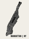 Manhattan, New York Affiches par  Mr City Printing