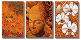 Buddha Panel II Prints by Keith Mallett