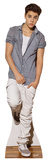 Justin Bieber (Check Shirt) Pappaufsteller