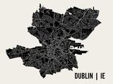 Dublin Kunstdrucke von  Mr City Printing