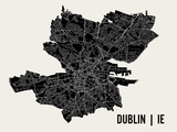 Dublin Poster by  Mr City Printing