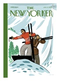 Top of the World - The New Yorker Cover, January 11, 2010 Regular Giclee Print by Jan Van Der Veken