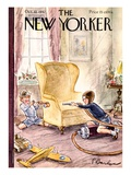 The New Yorker Cover - October 10, 1942 Premium Giclee Print by Perry Barlow