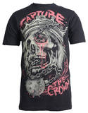 Capture the Crown - Flail King (Slim Fit) T-Shirt