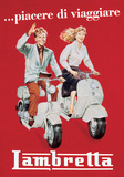 Lambretta - Vintage Style Italian Poster Posters