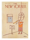 The New Yorker Cover - December 9, 1974 Regular Giclee Print by Robert Tallon