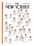 The New Yorker Cover - September 22, 1975 Regular Giclee Print by Dean Vietor