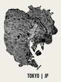 Tokio Kunstdrucke von  Mr City Printing