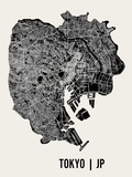Tokyo Art by  Mr City Printing