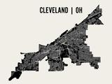 Cleveland Plakater av  Mr City Printing