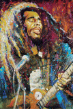 Marley True Colors Poster par Stephen Fishwick