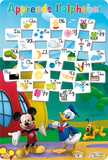 Alphabet - La Maison de Mickey Uutuus